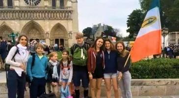 Charles-Louis d'Orléans : pèlerinage en famille à Chartres
