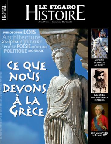 Figaro Histoire consacré à la Grèce