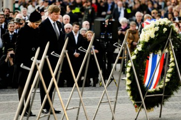 Willem-Alexander et Maxima des Pays-Bas : journée du souvenir