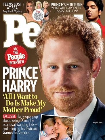 La déclaration d'amour du prince Harry à sa mère