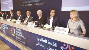 La sheikha Mozah à un sommet humanitaire à Istanbul