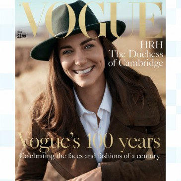 La duchesse de Cambridge à la Une de « Vogue »
