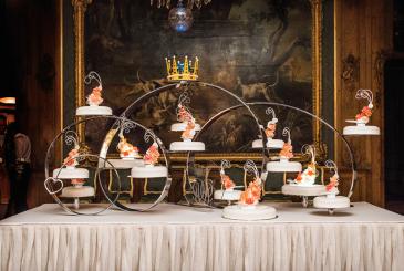 Vente du support du gâteau de mariage de Carl Philip et Sofia de Suède