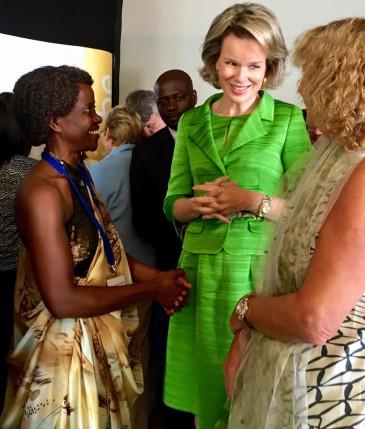 La reine Mathilde remet le prix fédéral de lutte contre la pauvreté