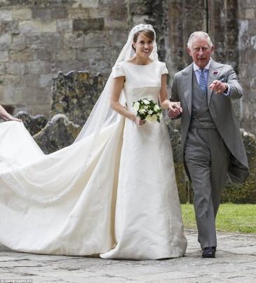 Mariage de l'Honorable Alexandra Knatchbull, arrière-petite-fille de lord Mountbatten