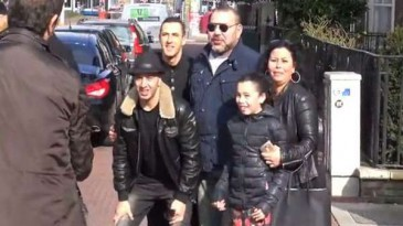 Le roi du Maroc à Amsterdam