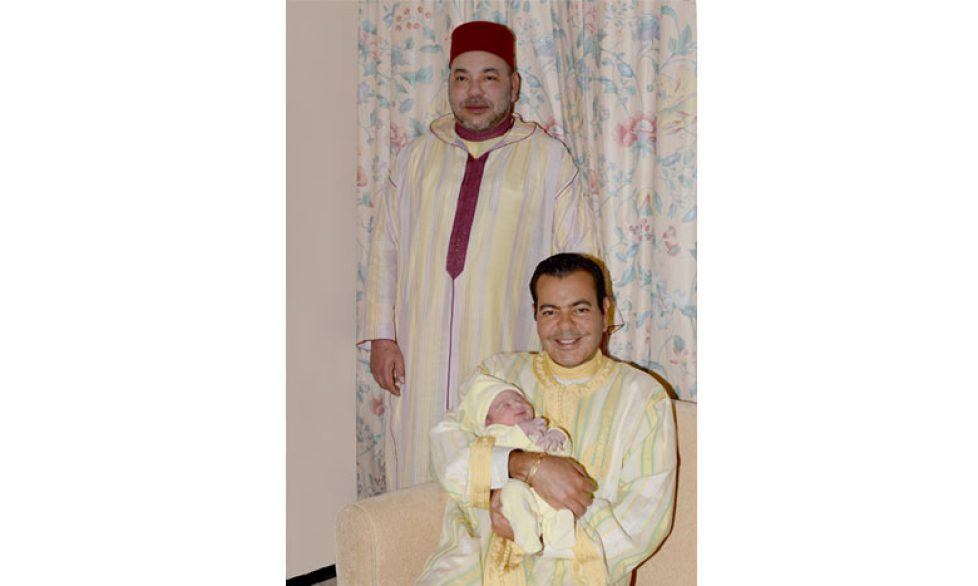 Naissance du prince Moulay Ahmed du Maroc