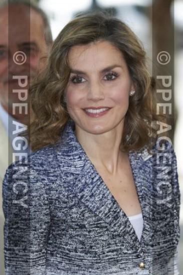 La reine d'Espagne à une conférence sur la nutrition