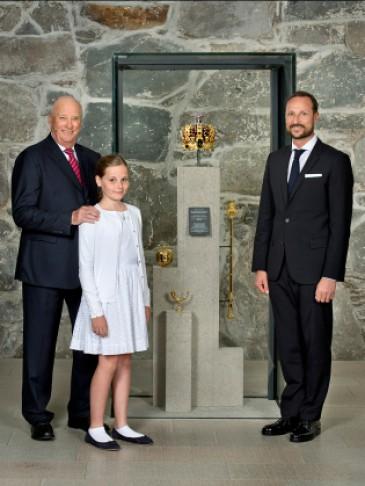 25 ans de règne d'Harald de Norvège : 3 générations réunies