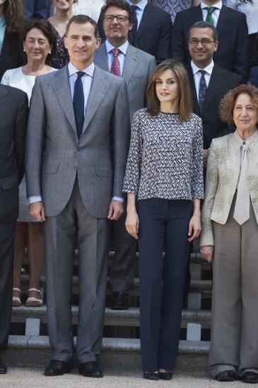 Felipe et Letizia d'Espagne : audiences à La Zarzuela