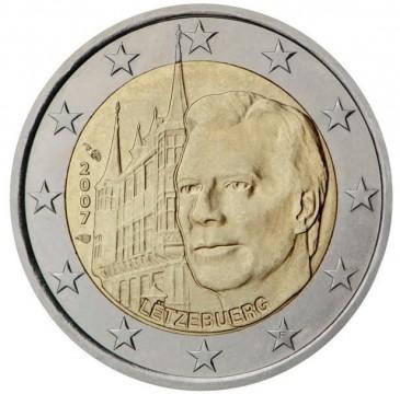 Numismatique de l'euro : les châteaux du grand-duc