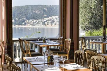 Le restaurant de la villa Ephrussi