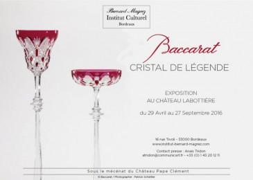 Exposition «Baccarat, cristal de légende» à Bordeaux
