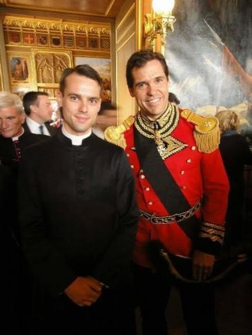 Ordre de Malte : cérémonie de chevaliers à Versailles