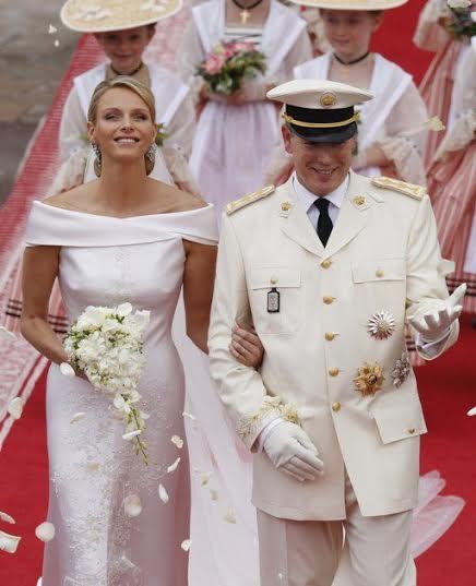 Albert et Charlène de Monaco  5 ans de mariage