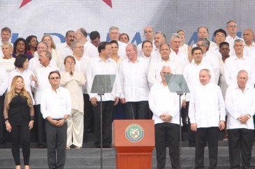 Le roi Juan Carlos à Panama