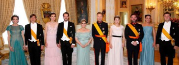 Fête nationale au Luxembourg : dîner au palais grand-ducal