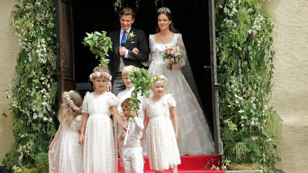 Préférence Mariage du prince héritier de la famille princière de Oettingen  QA37