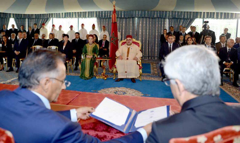 Mohammed VI et Lalla Salma du Maroc : cérémonie au Palais royal de Casablanca