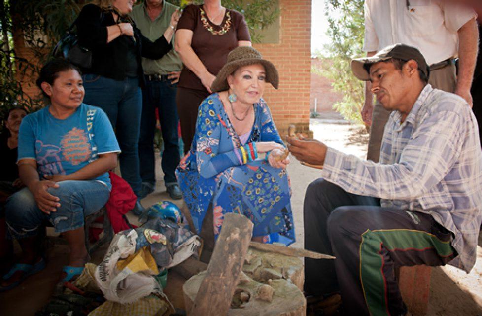 Les projets de la fondation de la princesse Diane de France au Paraguay
