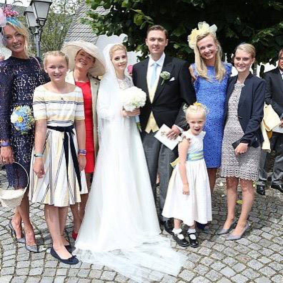 Mariage du prince Maximilian de Sayn-Wittgenstein-Berleburg