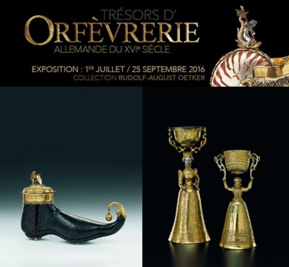 Exposition «trésors de l'orfèvrerie allemande du XVIè siècle