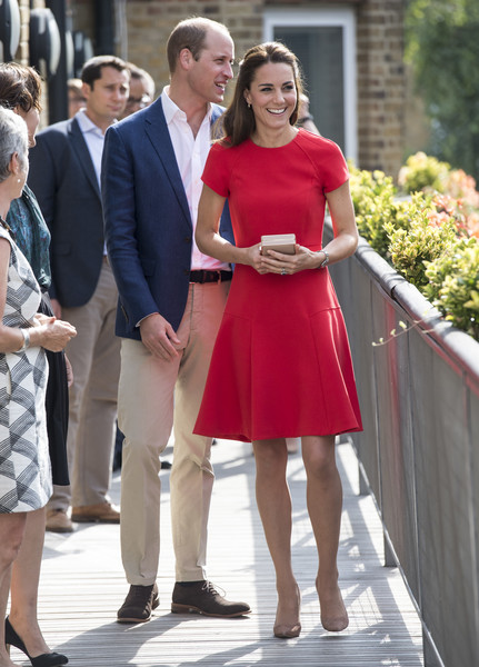 William et Kate à la « Youngminds helpline »