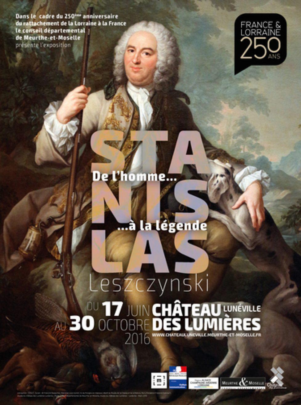 Exposition au château des Lumières à Lunéville