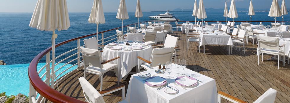 Restaurant eden roc noblesse royaut s for Restaurant antibes