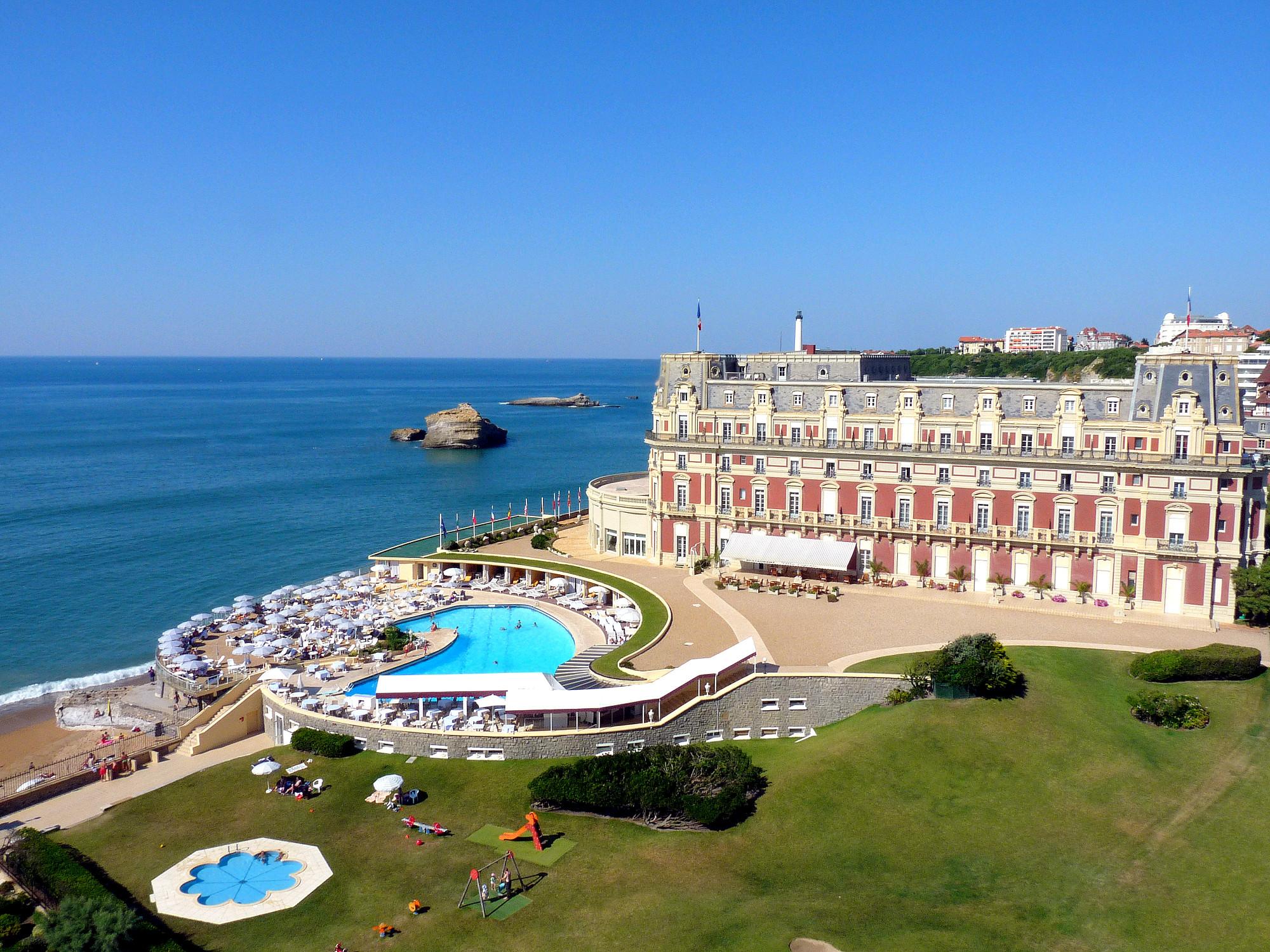 Le duc et la duchesse de cambridge biarritz noblesse - Prix chambre hotel du palais biarritz ...