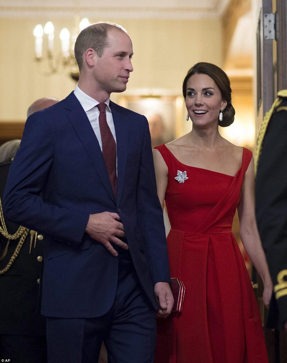 William et Kate : cérémonie à Government House à Victoria