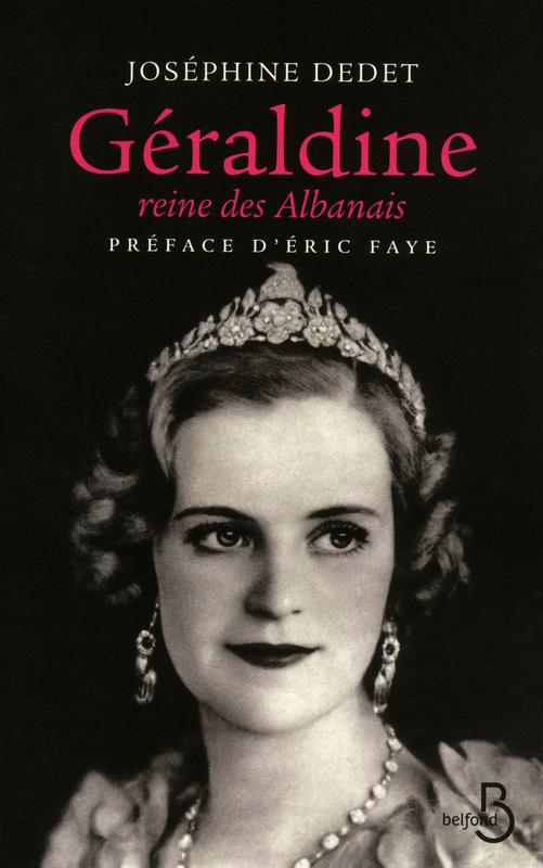 Livre «Géraldine, reine des Albanais»