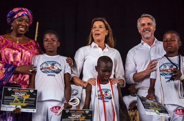 La princesse Caroline à Kinshasa pour l'AMADE