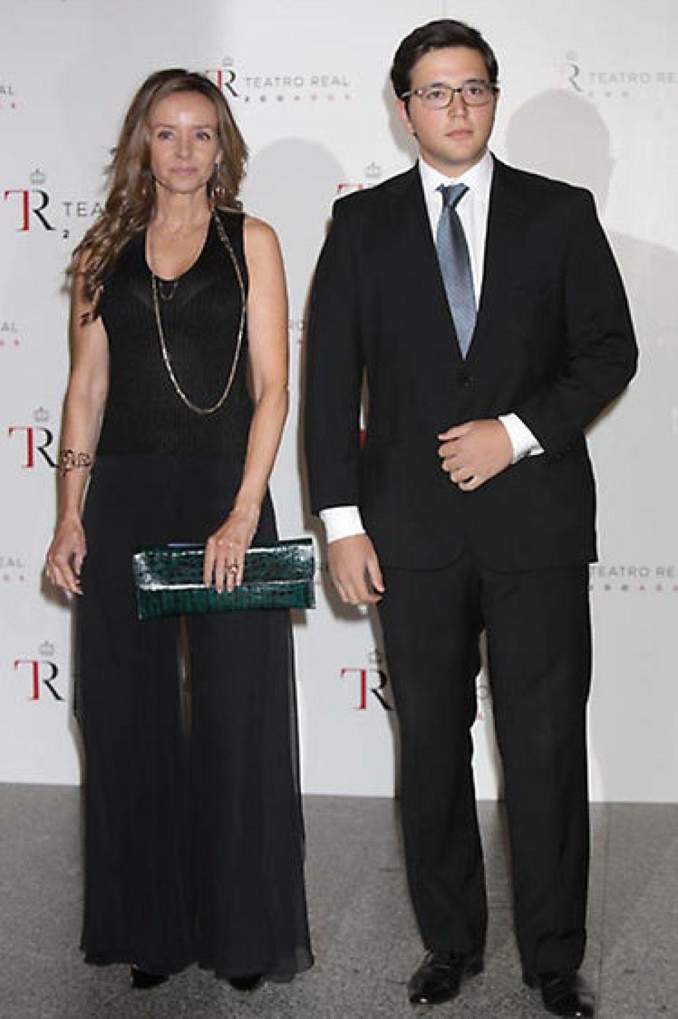 Miriam et Boris de Bulgarie au Théâtre royal
