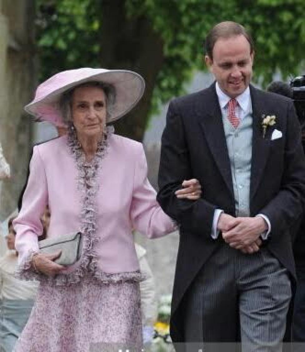 Les 92 ans de la duchesse Marie Christine de Wurtemberg