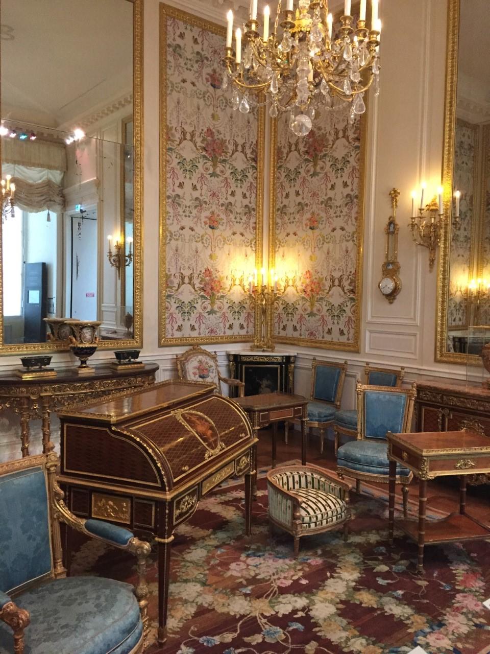 Salle Marie-Antoinette au Louvre