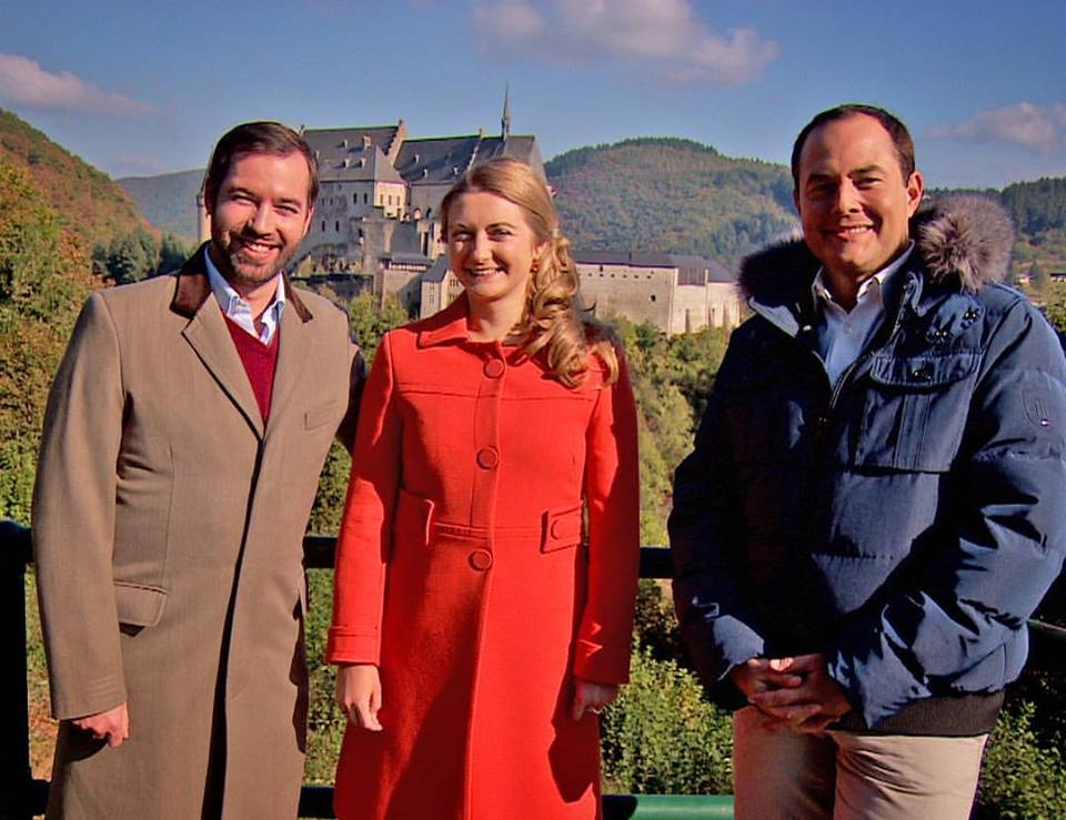 Balade au Luxembourg avec Guillaume et Stéphanie