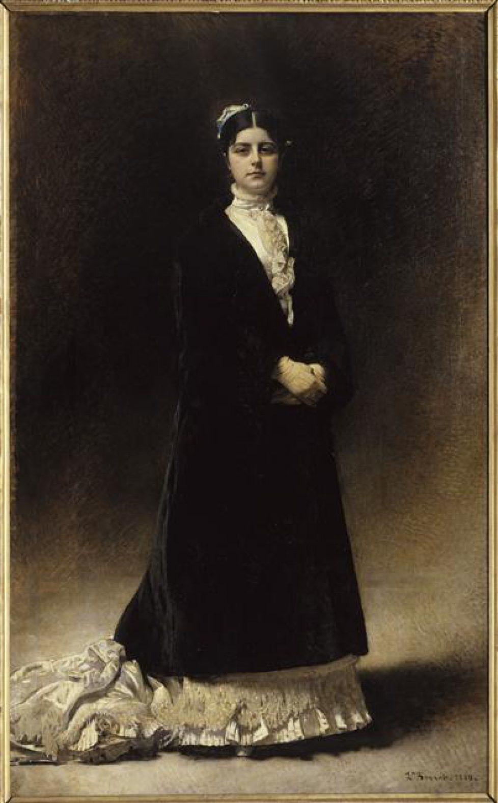 Le portrait de la comtesse Potocka