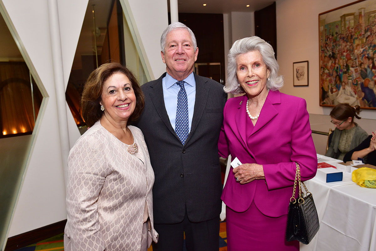 Crown Princess Katherine of Serbia, Crown Prince Alexander of Serbia, Lady Lully Gibbons== Lifeline NY Annual Benefit Luncheon== Le Cirque, NY== October 5, 2016== ©Patrick McMullan== Photo - Sean Zanni/PMC== ==
