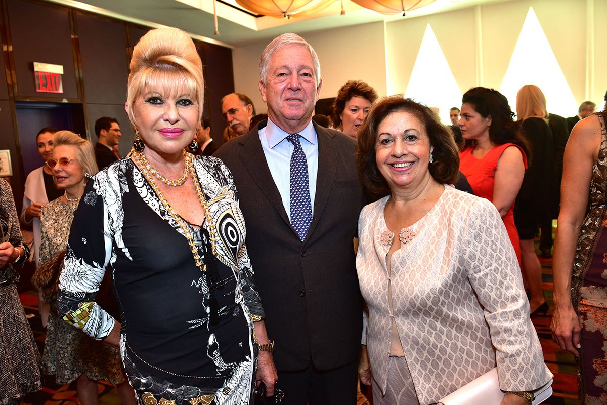Ivana Trump, Crown Prince Alexander of Serbia, Crown Princess Katherine of Serbia== Lifeline NY Annual Benefit Luncheon== Le Cirque, NY== October 5, 2016== ©Patrick McMullan== Photo - Sean Zanni/PMC== ==