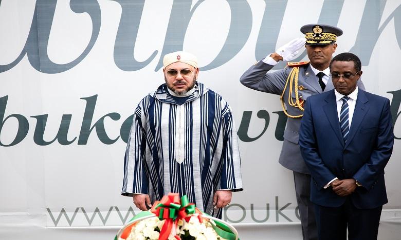 Le roi du Maroc au Rwanda