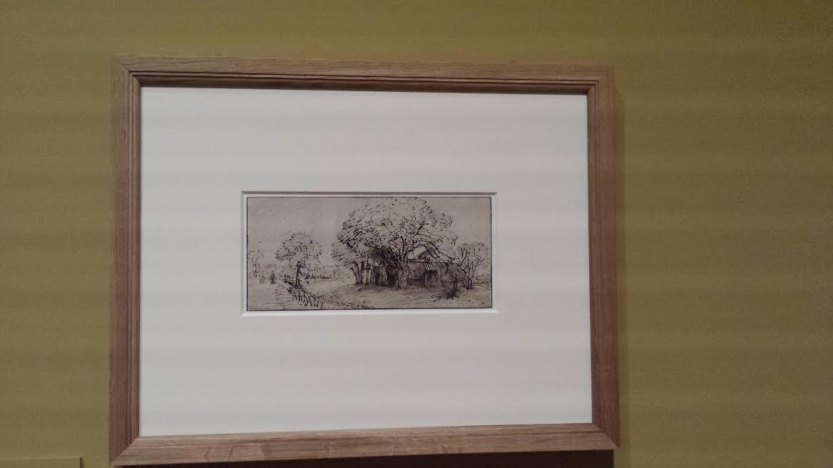 Deux oeuvres de l'expo «Un Suédois à Paris»