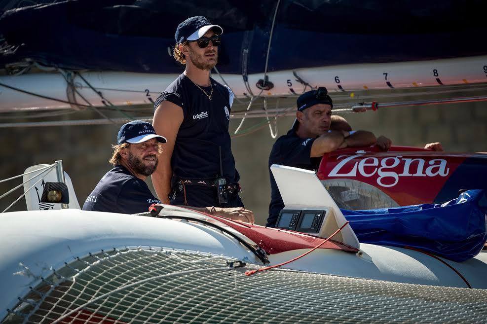 Pierre Casiraghi à la course Rolex Middle Sea
