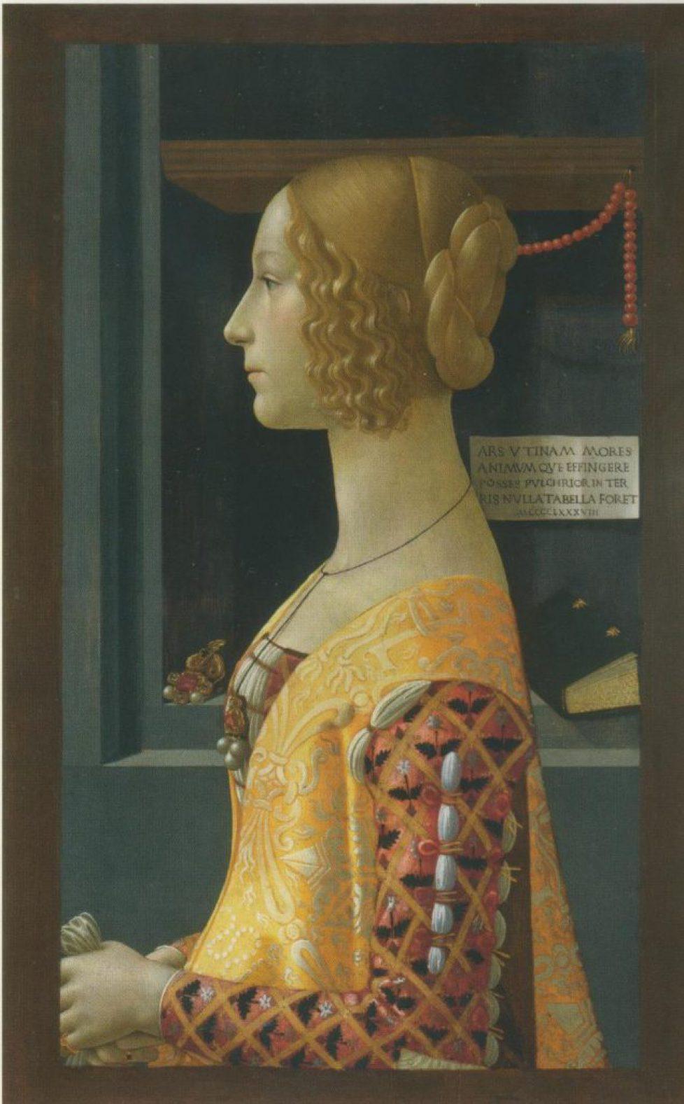 Un portrait peint par Ghirlandaio