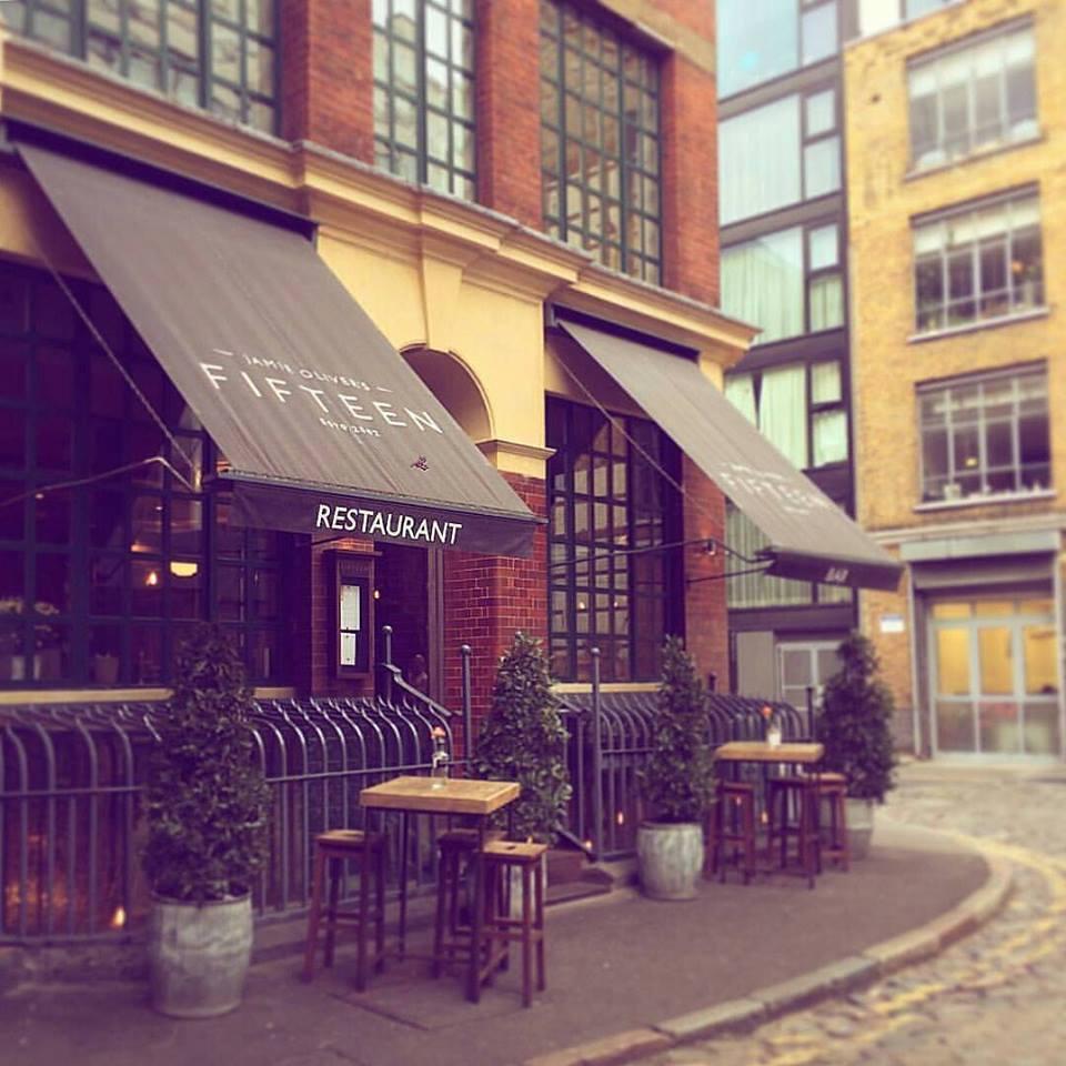 Restaurant fifteen londres noblesse royaut s - Cours de cuisine londres ...