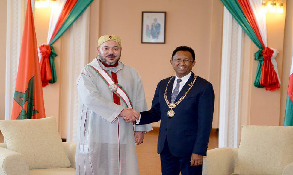 Le roi du Maroc à Madagascar