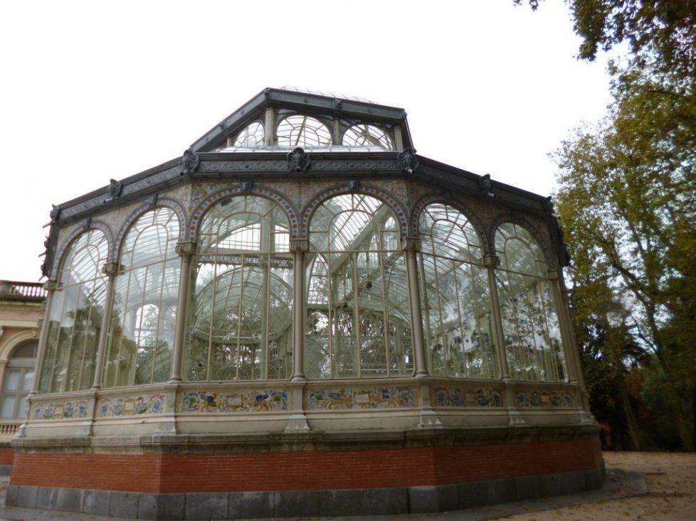 Le Palais de Cristal à Madrid