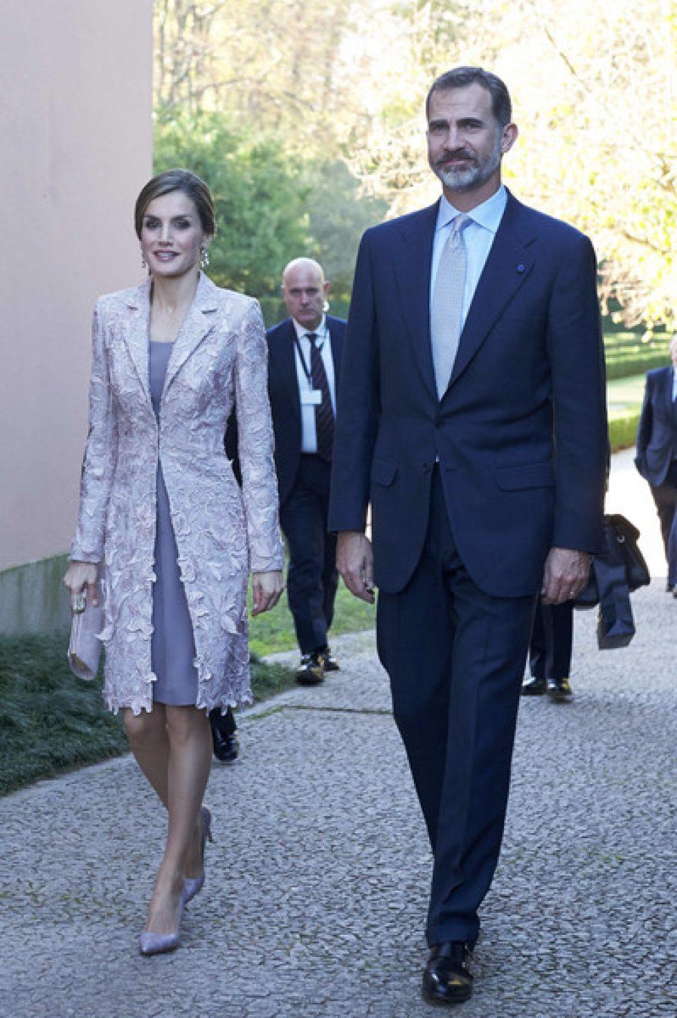 Les souverains espagnols à Porto