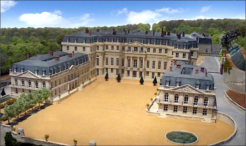 Fabuleux Reconstruction du château de Saint-Cloud : état de la situation  FL86