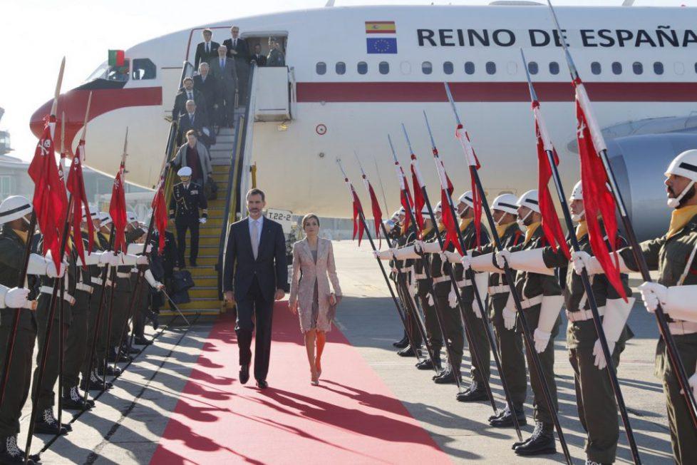 Visite d'Etat des souverains espagnols au Portugal